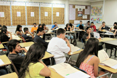 Career Choices classroom, increasing test scores